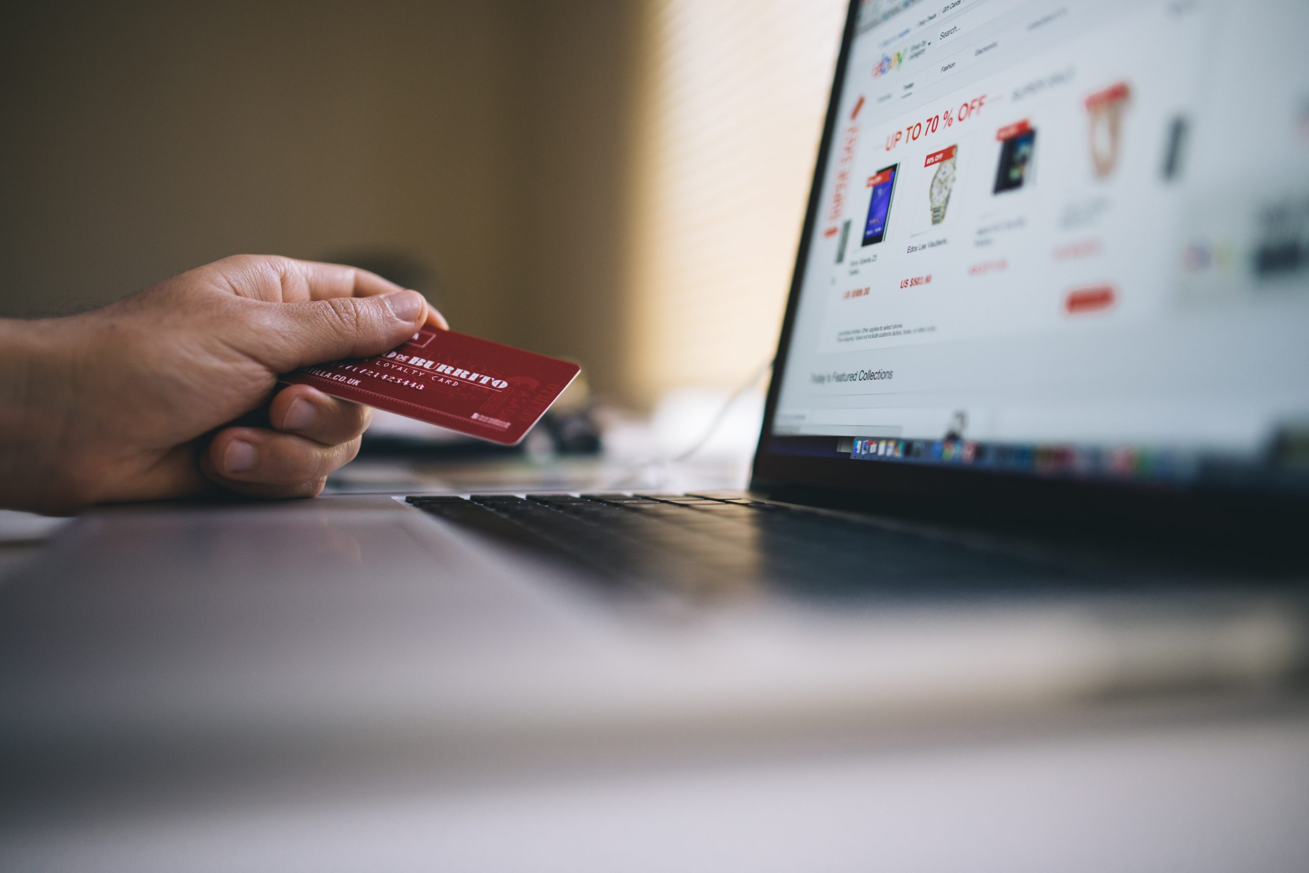 Buying from an e-commerce provider